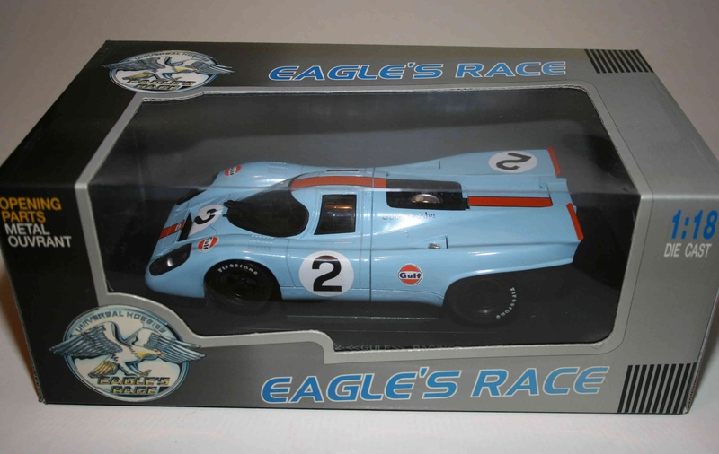eagles race 1 18 porsche 917 k 1970 gulf 24stunden. Black Bedroom Furniture Sets. Home Design Ideas