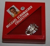 Kart Anstecker aus massivem Silber aus Michael Schumacher Collection MSC