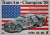Audi Motorsport Plakat - Audi 200 Trans Am Champion 1988