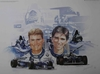 David Couldhard & Damon Hill - 1995 Rothmans Williams Renault Formula 1 Team